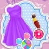 Barbie's Pretty Lace Dress